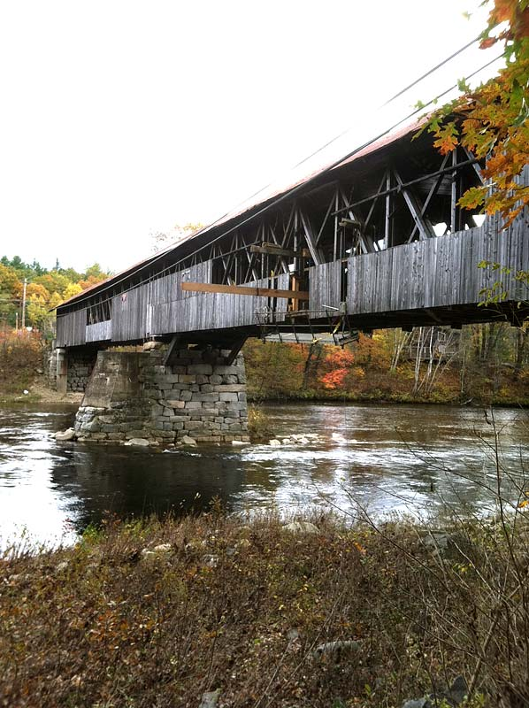 Covered Bridge Repair 3g Construction Holderness Nh