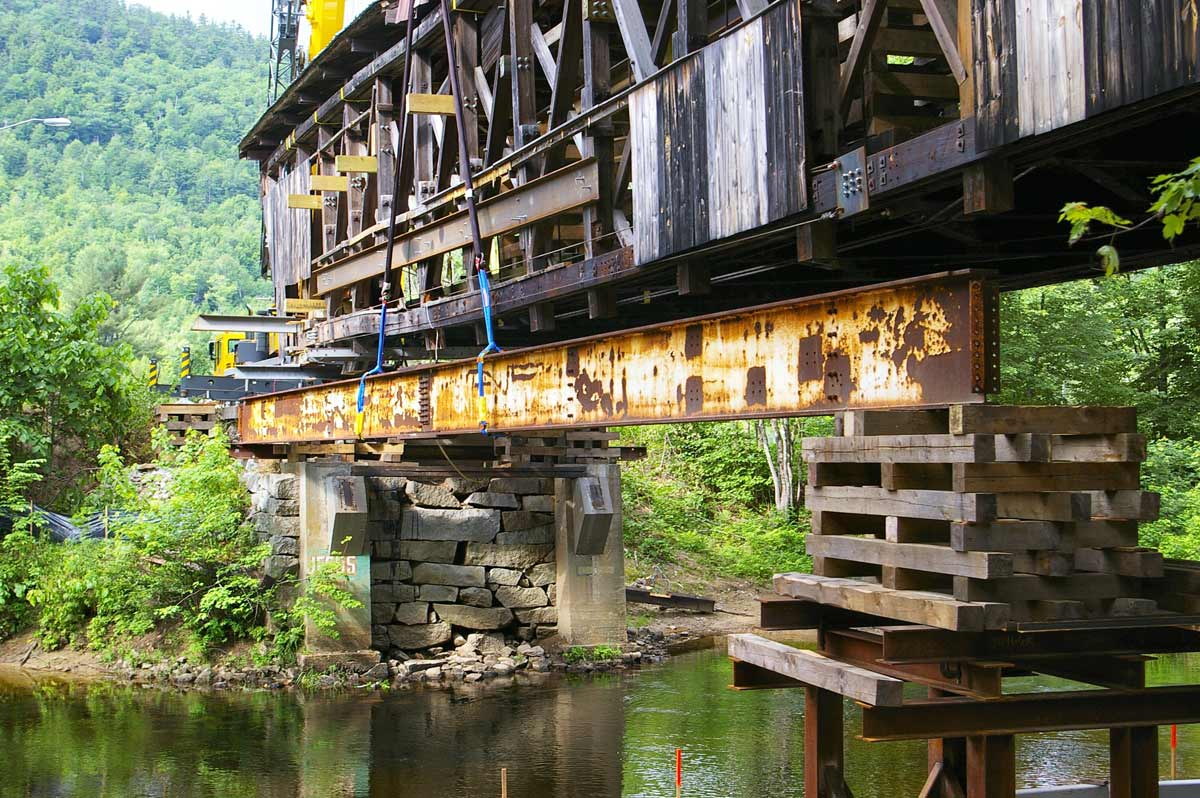 Covered Bridge Restoration and Relocation :: 3G Construction